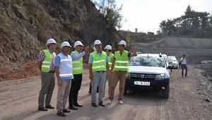DSİ Genel Müdür Yardımcısı Üzücek, Antalya'da İncelemelerde Bulundu