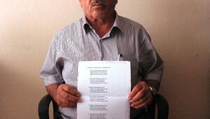 71 Yaşındaki Rıza Saraç, AK Parti'ye Destek Şiiri Yazdı