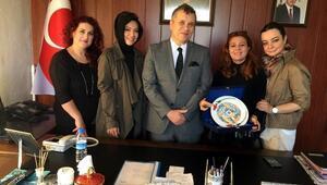 Güçlü Kadınlardan Emniyet Müdürü Mehmet Gülnaz'a Ziyaret