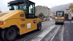 Van Büyükşehir Belediyesi'nin Gevaş İlçesinde Yol Yapım Çalışmaları