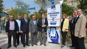 Yunusemre Belediyesi'nden 7 Noktada Ücretsiz Wifi Hizmeti
