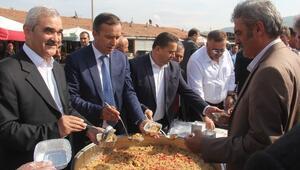 Osmancık Belediyesi Aşure Dağıttı