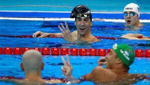Phelps, 27. madalyasını aldı