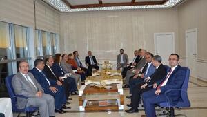 AK Parti Milletvekillerinden, Başkan Polat'a Ziyaret