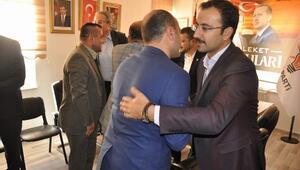 AK Parti'ye Tebrik Ziyaretleri Devam Ediyor