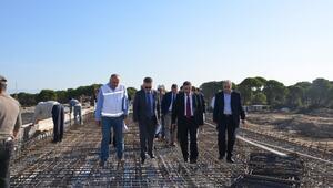 DSİ Genel Müdür Yardımcısı ACU Antalya'da İncelemelerde Bulundu