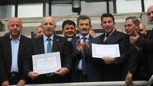 Zonguldaklı Vekiller Mazbatalarını Aldı