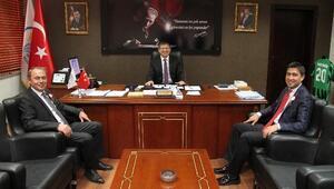 AK Partili Vekillerden Başkan Subaşıoğlu'na Ziyaret