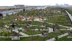Konya Büyükşehir Ankara Yolunu Parklarla Donattı