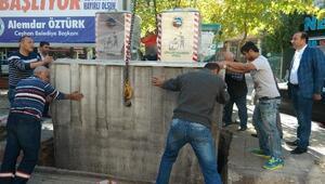 Ceyhan'da Çöp Konteynerleri Yeraltına Alınıyor