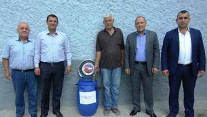 Ceyhan'da Bitkisel Atık Yağlar Toplanıyor