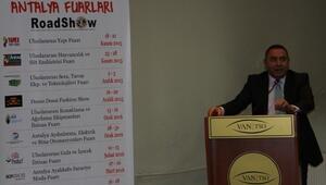 Antalya Fuarları Van'da Tanıtıldı