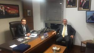 Başkan Kamil Saraçoğlu Mecliste Vekilleri Ziyaret Etti