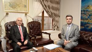 KOSGEB Müdürü Döngel'den Edirne Valisi Şahin'e Ziyaret