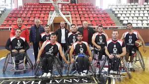 Engelsiz Gaziantepspor Beşinci Maçını Gaziantep Büyükşehir Belediyespor Tekerlekli Sandalye Basketbol Takımı İle Oynayacak