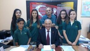 Hürriyet Ortaokulu'nda Başkan Seçimi