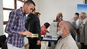 Bozüyük Belediyesi'nden Vatandaşlara Ücretsiz Göz Taraması