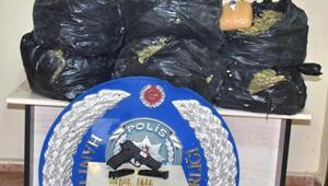 Diyarbakırda 60 kilo esrara 5 tutuklama