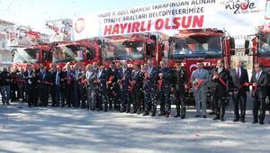 Niğde'ye 6 İtfaiye Ve 2 Adet Seyyar Karakol Aracı Alındı