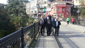 Orman Ve Su İşleri Bakanlığı Müşteşar Yardımcısı Özkaldı, Trabzon'daki Yatırımları İnceledi
