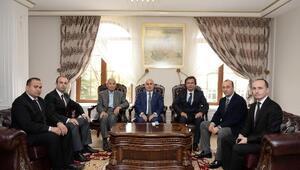 Türk Eğitim-sen'den Edirne Valisi Şahin'e Ziyaret