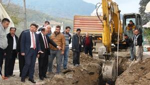 Tunç Hasankadı Belediyesi'nin Çalışmalarını İnceledi