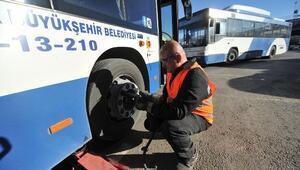 EGO Otobüsleri Kışa Hazır