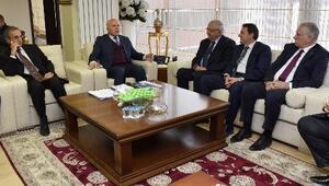 OSB Üst Kuruluşu Üyeleri Başkan Sekmen'i Ziyaret Etti