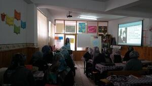 Nevşehir'de Kadınlara Yönelik Eğitimler Devam Ediyor