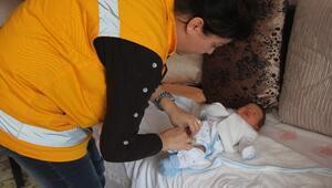 Burhaniye Belediyesi'nden Minik Eller Projesi