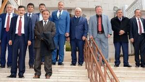Aksaray'daki Belediye Başkanları TBMM'ye Gitti