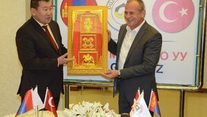 Moğolistan Heyeti Düzce'de Ağırlandı
