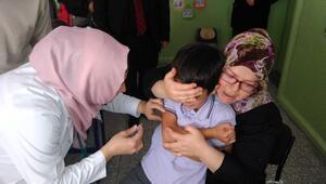 Seyitgazi'de Okul Aşı Günleri