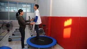 Engelli Çocuklar Sporla Hayata Adım Atıyor