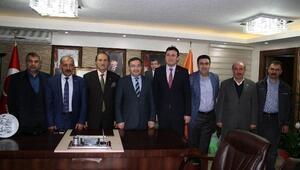SESOB Başkanı Köksal'dan, AK Parti'ye Ziyaret