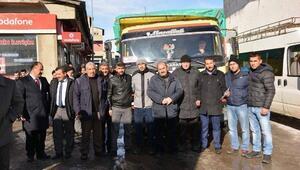 Aşkale'den Bayır Bucak Türkleri Yardım