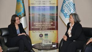 AP Raportörü Piri'den Eş Başkanlara Ziyaret
