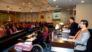 Osmangazi Belediye Meclisi Turuncuya Büründü