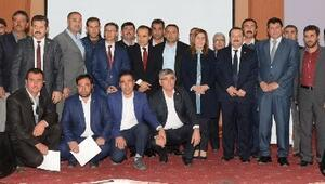 AK Parti Heyetinden Eskil'e Teşekkür Ziyareti