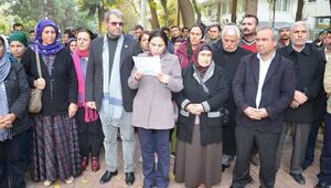 Viranşehir'de Sokağa Çıkma Yasakları Protesto Edildi