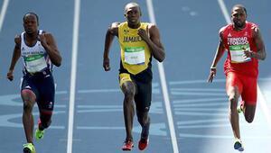 Bolt ve Gatlin, yarı finalde