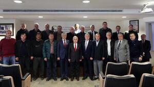 Vali Dursun Ali Şahin, ETSO Meclisi'ne Veda Ziyaretinde Bulundu