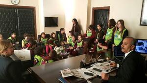 Eko TİM Öğrencilerinden Başkan Culha'ya Ziyaret