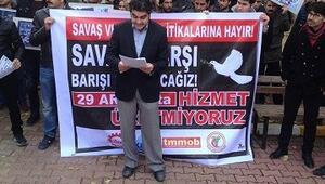 Viranşehir'de Sendikalar Eylem Yaptı