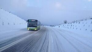Kar Yağışı Toplu Taşımayı Etkilemeyecek