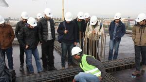 Kiza İş Merkezi Genç Mühendislere Ders Konusu Oldu