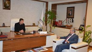Başkan Baran Mevkidaşlarını Ziyaret Etti