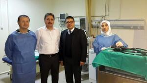 Gölbaşı Hasvak Devlet Hastanesi'nde Endoskopi Ünitesi Hizmete Açıldı