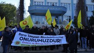 Antalya Eğitim Sen'den Akademisyenlere Detsek Eylemi