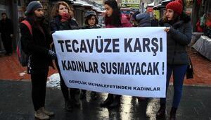 Samsun Gençlik Muhalefeti'nden Kadın İstismarı Eylemi